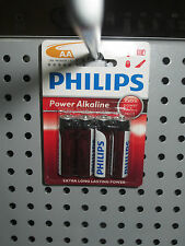 PACK DE 4 PILAS PHILIPS AA