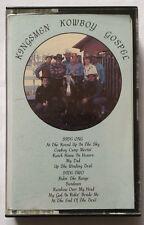 Kingsmen - KOWBOY GOSPEL -Rare 1983 tape ANTHONY BURGER