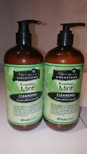 2 x Renpure Solutions Rosemary Mint Cleansing Conditioner 16 fl oz 2 bottles