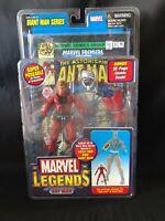 "Marvel X-Men Toy Biz Giant Man Series ANT MAN w/comic 6"" Action Figure BRAND NEW"