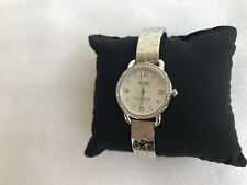 COACH Women's Delancey 28mm Bangle Watch Silver/Stainless Steel Watch 14502353