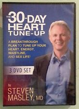 THE 30 DAY HEART TUNE UP by steven masley md  DVD NEW