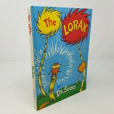 The Lorax by Dr Seuss, 1971, Early Printing, Lake Eerie, Nature, Earth