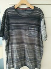Mens paul smith t shirt XXL Grey-Blue Stripe With Pocket