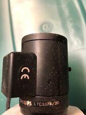 "Philips LTC 3374/20 1/3"" Vari Focal Aspherical Camera Lens 5.0-50mm. Used"