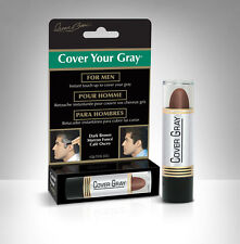 Irene Gari Cover Your Gray touch-up hair color stick for Men .15oz. Dark Brown