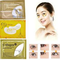 Collagen Augenpads Gold Augen Gel Pad Moist Eye Maske Falten Pflege Anti Aging