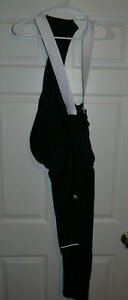 New Giordana Mens Fusion Roubaix Bib tights Black Large