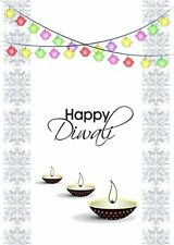 Diwali Holiday Greeting Cards (Diwali Lanterns Design 10 pack)