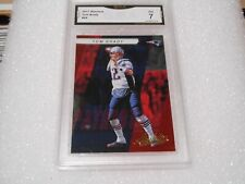 Tom Brady GRADED CARD!! 2017 Absolute #66 Tampa Bay Bucs MVP!! 7%-1