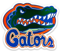Florida: University of Florida Albert Mascot & Gators Logo Magnet
