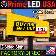 Prime Led Double Sided P10 Series Programmable Full Color Outdoor Led Sign 3x6