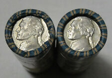 1942-1945 5C Jefferson Nickel Roll, Full Roll, 40 CT, War Nickel, Silver, #10428