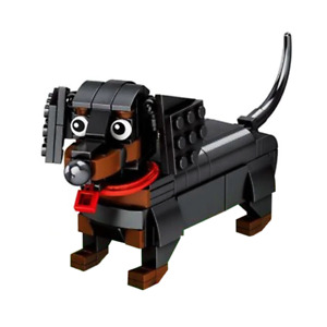 Little Funny Dachshund 3D Animal Dog Puzzle Mini Blocks Building Set