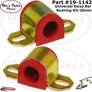 "PROTHANE 19-1142 Front or Rear Universal 26mm Sway Bar Bushing w/ ""B"" Bracket"
