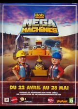 affiche du film BOB LE BRICOLEUR MEGA MACHINES 120x160 cm