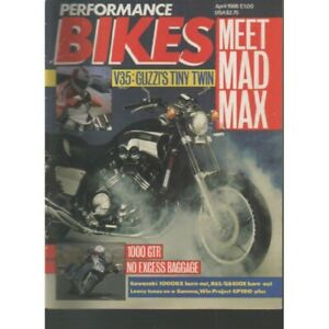 Performance Bikes Magazine April 1986 - 1000GTR KAWASAKI 1000TX (009)