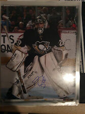 Marc-Andre Fleury Autographed 8x10 Photo Pittsburgh Penguins