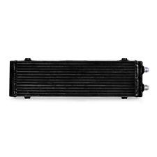 Mishimoto Universal Dual Pass Bar & Plate Oil Cooler Large - Black