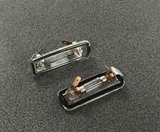 Ford Focus Sedan Kombi 98-> License Plate Light Left Right  2Pcs 1066481 1089043