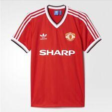 Manchester United Adidas Originals 1984 Retro Jersey Man Utd 84 Beckham Robson 7