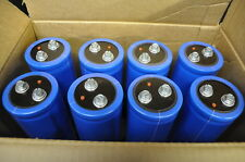 QTY8 - NEW Cornell Dubilier 6000 uF @ 400VDC Electrolytic Capacitor 105C CDE