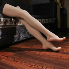 Sexy Lifelike Shoes Model Silicone Prop Female Leg Display Mannequin Foot Long