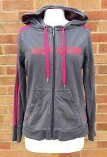 URBAN OUTFITTERS Adidas Grey Women's Hoodie Hoody Sweatshirt Casual Workout 14 L