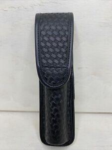 BLACKHAWK! Expandable Baton Holder Basket Laminate Nylon Weave Finish Black - D4