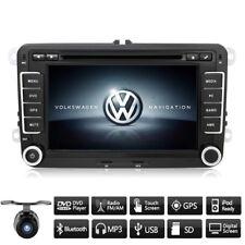 "7"" Car Stereo DVD DAB+ SatNav GPS Navigation Bluetooth For VW Golf Skoda Seat UK"