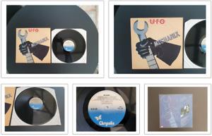 "UFO MECHANIX 1982 UK PRESS 12"" VINYL RECORD LP"