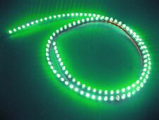 4ft 120cm 12V Green 120 LED Neon Flexible PVC Strip Light Auto car waterproof