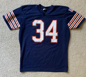 VTG Walter Payton NFL Navy Chicago Bears Navy Blue Rawlings jersey Men's XL