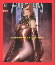 UNCANNY AVENGERS 1 Granov 2B SCARLET Witch Euro Variant 1:75 Endgame Marvels HTF