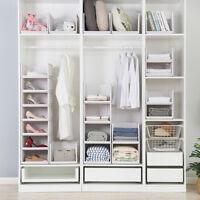Multipurpose Detachable Wardrobe Organizer Drawer Storage Basket Stackable RHPF