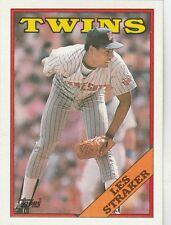 FREE SHIPPING-MINT-1988 (TWINS) Topps #264 Les Straker