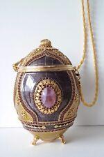 Vivian Alexander Minaudiére Fabergé Egg - Handbag - Purse - Jewelry Box $1400