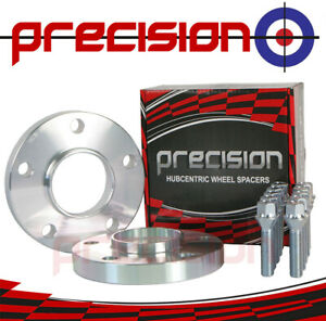 Wheel Spacers 20mm Hubcentric - 1 Pair with Bolts Nuts for BMW 3 Series