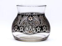 STEINSCHONAU ENAMELLED GLASS VASE ADOLPH BECKERT C.1915