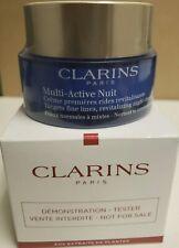 "CLARINS MULTI ACTIVE NUIT NIGHT CREAM ""TESTER BOX""  1.6 OZ SEALED"
