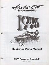 1996 Arctic Cat Snowmobile Ext Powder Special Parts Manual P/N 2255-375 (711)
