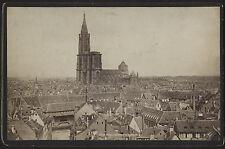STRASSBURG - Ansicht der Stadt Fotolitho um 1890