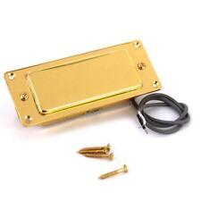 VINTAGE Mini Humbucker Pickup Gold Surround fit Les Paul LP Electric Guitar