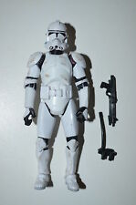Star Wars Revenge of the Sith Clone Trooper #41 SA Super Articulated Loose RotS