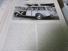 Nutzfahrzeug Archiv 2 Entwicklung 2780 Wanderer W 23 Farmerwagen 1937