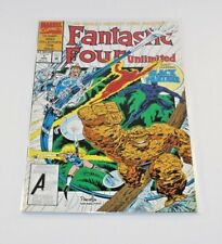Fantastic Four Unlimited # 1 1993 Series Black Panther vs Klaw Good Story VF