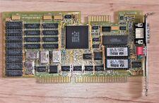 WDC WD90C00 VGA video card 16-bit ISA also works on 8-bit PC XT computer