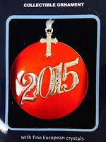 1 Red Cross Regent Square European crystals Collection Christmas ornament 2015