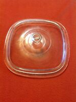PYREX Square Clear Glass Replacement Lid Cover A-8 Dishes