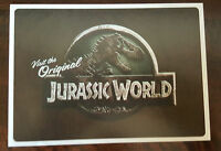 2015 SDCC COMIC CON EXCLUSIVE LAND OF THE LOST JURASSIC WORLD PARK PROMO CARD